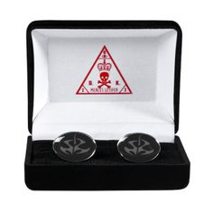 Agent 47 Insignia cufflinks - if i had shirts with proper cuffs I would have these