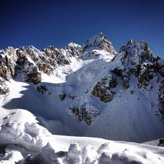 """#cortinadampezzo #dolomites #mountains #landscape #nature #skiing #veneto #italy #dolomiti #faloria"""