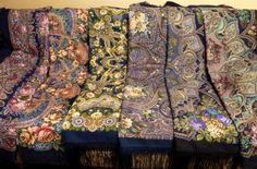 Павловопосадский платок-шаль