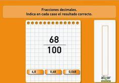 Fracción decimal y número decimal