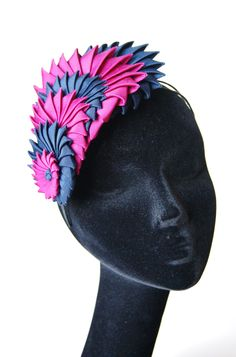 Esther~Louise Millinery signature origami headband A/W 2014 collection
