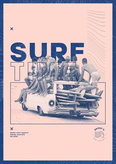 Surf Poster Design Project Concept Graphic Design and Branding Concept by Zeka Design - Brody's Surf Apparel Branding and Graphic Design Project Concept by Zeka Design, Surf Poster Desi - Vintage Graphic Design, Graphic Design Layouts, Graphic Design Projects, Graphic Design Posters, Graphic Design Typography, Graphic Design Illustration, Graphic Design Inspiration, Branding Design, Poster Designs