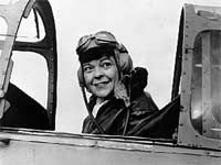 """Marion Orr -- """"Owing to the male-biased Service regulations of the time, the wishes of Canadian women pilots to fly with the RCAF during World War II were generally shot down. Nevertheless, as least one Canadian woman managed to fly military aircraft. Marion Orr paid for her own flying lessons in 1941, then went off to England"""