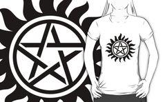 Supernatural Symbol Shirt by HarmonyByDesign Senior Photo Outfits, Senior Photos, Supernatural Symbols, Classic T Shirts, Graphic Sweatshirt, Gift, Senior Pictures, Senior Pics, Gifts
