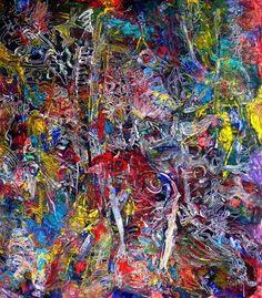 "Saatchi Art Artist Igor Eugen Prokop; Painting, ""THE WORLD ON MY BACK"" #art"