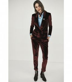 Topshop Tailored Velvet Blazer £75
