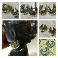 🎆Must Have this Season 💟Gold, Silver Tone Vintage Chandbalis Reasonable Prices NO COD WA 9810105290 #chandbali #chandbala #jhumki #jhumkas #earringaddict #earring #fashionaddict #fashionjewellery #fuschianet #earringsoftheday #fuschinetscarves #fuschianetaccessories
