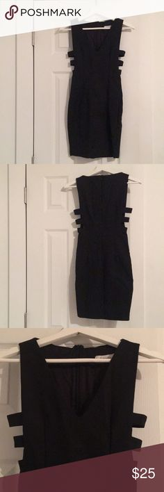 LF LBD with Side cut outs LF Little Blake Dress/ v cut / side cut outs/ size XS or 6 New LF Dresses Mini