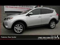 2015 Toyota RAV4 Limited - Lewis Toyota - Topeka, KS 66614  Won't last long!!! This super Toyota is one of the most sought after vehicles on the market because it NEVER lets owners down.. New Inventory!! Priced below MSRP!!! Bargain Price!!! Biggest Discounts Anywhere.. One of the best things about this Vehicle is something you can't see, but you'll be thankful for it every time you pull up to the pump*