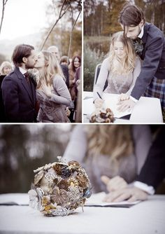 October rustic wedding. warm, earthy, cozy and intimate.
