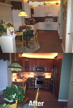 Before_after_1 By The Solid Wood Cabinet Company, Via Flickr
