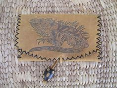 Hand made tabacco punch with pyrografy