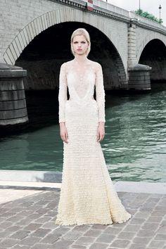 Givenchy Couture fall 2011 - Uma inspiração Vintage #casarcomgosto