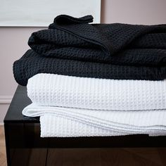 Organic Stitched Blanket | west elm