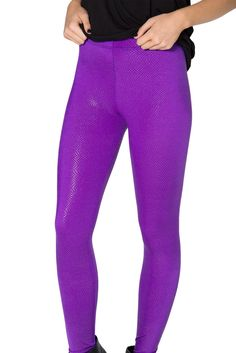 Pixie Dust Purple Leggings - LIMITED by Black Milk Clothing $60AUD
