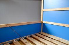 Il y a quelques semaines, nous avons enlevé un côté du lit à barreaux de Mr Poc. Il y a quelques jours, après qu'une chute aie fait remonté des angoisses, nous avons décidé d'aller plus…