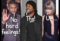 Usher Says Unlike Taylor Swift, He Was Fine With Kanye West Using HIS Name In A Song! But…