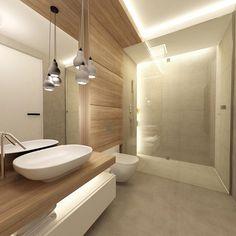 ROOM STUDIO Contemporary Bathrooms, Modern Bathroom, Small Bathroom, Bathroom Interior, Interior Design Living Room, Bathroom Design Inspiration, Bathroom Plans, Upstairs Bathrooms, Bathroom Toilets