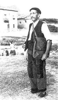 Foto antigua del cartero rural MÁLAGA