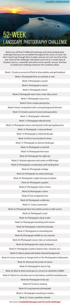 52-Week Landscape Photography Challenge