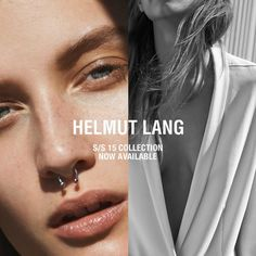 campaign layout The Essentialist - Fashion Advertising Updated Daily: Helmut Lang Ad Campaign Spring/Summer 2015 Look Fashion, Fashion Art, Editorial Fashion, Fashion Models, Fashion Brands, Fashion Advertising, Fashion Marketing, Advertising Campaign, Helmut Lang