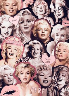 Marilyn Monroe, Collage, and Queen image Marilyn Monroe Tattoo, Marylin Monroe, Marilyn Monroe Kunst, Marilyn Monroe Wallpaper, Marilyn Monroe Quotes, Tumblr Wallpaper, Wallpaper Backgrounds, Iphone Wallpaper, Trendy Wallpaper
