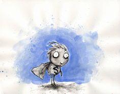 Stain Boy by Tim Burton