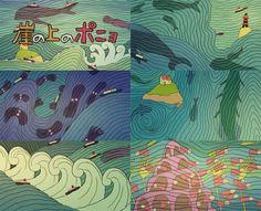 Ponyo opening credits #ghibli #miyazaki