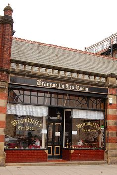 Bramwell's Tea Room, Filey, North Yorkshire