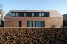 Niedrigenergiehaus in Filsdorf - Haus Kieffer: Klassisch Häuser von STEINMETZDEMEYER architectes urbanistes