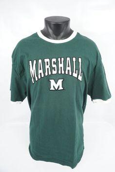c38975d312e Colosseum Marshall Thundering Herd University SS T-Shirt Men s Adult Size  XXL  Colosseum  EmbroideredPatchTeeShirt  MarshallThunderingHerd