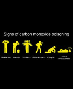 how to avoid carbon monoxide