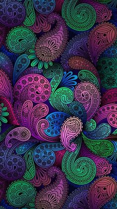 46 Best Ideas For Mandala Art Wallpaper Colour Mandala Wallpaper, Paisley Wallpaper, Paisley Art, Colorful Wallpaper, Paisley Pattern, Pattern Wallpaper, Wallpaper Backgrounds, Paisley Design, Wallpaper Quotes