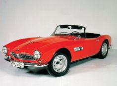 BMW 507- would love an old car like this