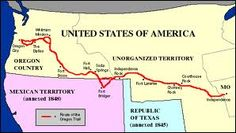 60 best traveling on the oregon trail images on pinterest fort oregon trail map publicscrutiny Image collections