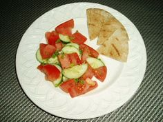 Meatless Mediterranean: Greek-Style Tomato and Cucumber Salad