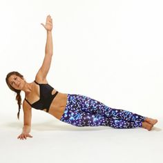 Side Plank with Hip Dips - Abs Workout: 10 Oblique Exercises for a Flat Stomach - Shape Magazine Abs And Obliques Workout, Tiny Waist Workout, Oblique Workout, Abs Workout Video, Best Ab Workout, Barre Workout, Oblique Exercises, Fat Workout, Gym Workouts