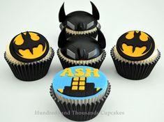 Batman Cupcakes