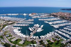 Port Vauban (Antibes, France) - One of the largest superyacht Marinas in the world
