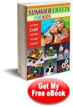 """""""22 Summer Crafts for Kids"""" eBook"""
