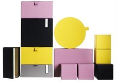 Colorful Storage Boxes from IKEA