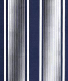 Ralph Lauren Super Yacht Stripe Navy Fabric - ysm - Welcome to the World of Decor! Fabric Design, Pattern Design, Stripe Pattern, Ralph Lauren Fabric, Cotton Lawn Fabric, Nautical Stripes, Navy Fabric, Fabric Textures, Striped Fabrics