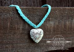 Child's Diffuser Necklace - Aqua – Sacred Dayna's Young Living member #1893605