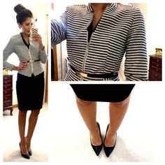 This woman posts her office outfits and where to buy each piece