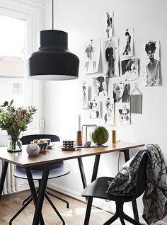 Muita gente não tolera o preto na decoração por achar que é uma cor fechada, séria, triste ou que não transmite boa energia. Suscita conotações negativa