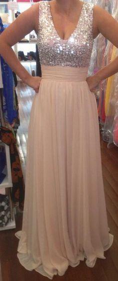 A-Line Princess V-Neck Sleeveless Chiffon Beading Floor-Length A Line Wedding Party Dress Elegant Long Lace Prom Dress Formal Evening Dresses Bridesmaid Dress Wedding Party Dress