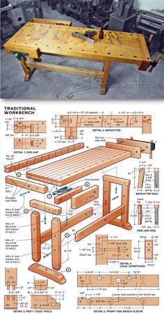 DIY Workbench - Workshop Solutions Projects, Tips and Tricks | http://WoodArchivist.com