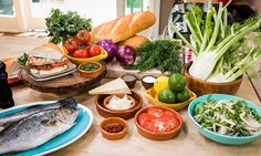 Home & Family - Recipes - Chef Jet Tila's Grilled Black Bass Sandwich with Red Onion Fennel Salad and Chipotle Crema | Hallmark Channel This looks soooo yummy! Have to try it. Plus I have some organic Fennel vegging out in my frig.