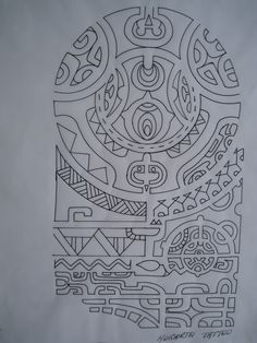 Projecto da Maori de The Rock | Brown Black Uniqx Template