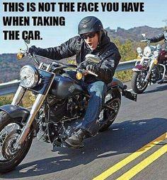 Ain't it the truth. Happy Friday Eve, my sexxy biker friends. Motorcycle Memes, Motorcycle Art, Futuristic Motorcycle, Motorcycle Garage, Ride Out, My Ride, Biker Chick, Biker Girl, Biker Boys